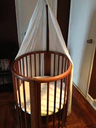 gently used stokke sleepi cribs available in 94010 within hillsborough