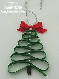 really reasonable ribbon tree ornament tutorial