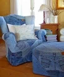 Denim Slipcover Sofa by Denim Furniture Foter