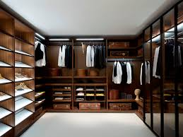 themed shelves decorating favored brown themed walk in closet design ideas with