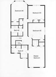 4 bedroom 2 bath floor plans 6 bedroom floor plans monmouth county county new jersey