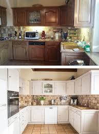 renovation cuisine bois relooking d une cuisine en bois avant après rénovation cuisine