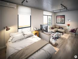 Small Studio Apartments With Beautiful Design - Studio apartment layout design