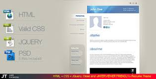 35 best online cv resume templates web u0026 graphic design bashooka