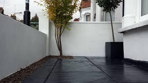 garden walling ideas victorian mosaic tile tiled path wall designs