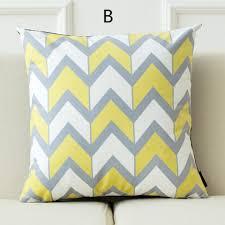 Decorative Pillows Modern Modern Nordic Geometric Decorative Pillows Wave Throw Pillows For