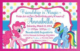 my little pony birthday party invitations stephenanuno com