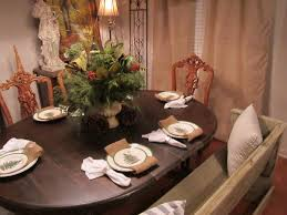 vintage finds christmas dining room table