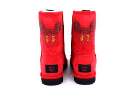 ugg boots for s sporting ugg x disney mickey suede boots size 6