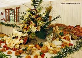 Table Buffet Decorations by Buffet Table Styling Samples Diy Potluck Wedding Reception