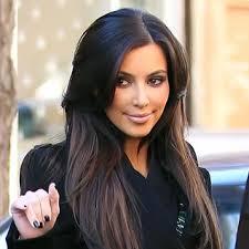 dark hair underneath light on top dark at the top light at the bottom hair love it kardashian