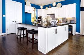 gehan homes kitchen open floor plan grey granite countertops