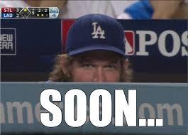 La Dodgers Memes - kershaw soon meme dodgers
