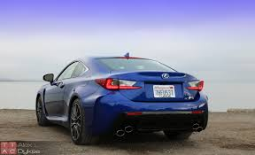lexus rcf blue 2015 lexus rc f review with video u2013 is f greater than m