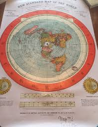 Detailed World Map Standard Time by Flat Earth Map U2013 The Plane Truth Network