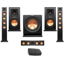 rf 42 ii home theater system klipsch premiere hd wireless floorstanding speaker bundle