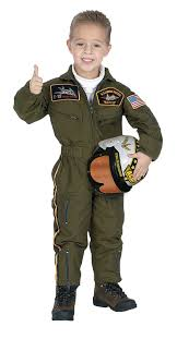 Army Soldier Halloween Costume Amazon Jr Armed Forces Pilot Suit Helmet Costume Clothing