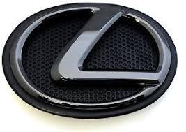 lexus emblem 2014 2015 2016 lexus is250 black pearl front emblem logo without
