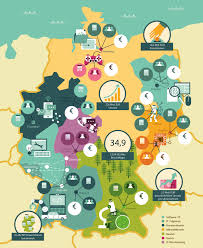 Darmstadt Germany Map by Db Mobil Silicon Germany Anton Hallmann Illustration