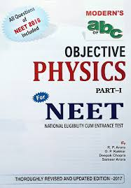 moderns u0027s abc of objective physics for neet 2017