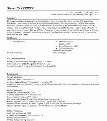Aviation Resume Template Best Aircraft Mechanic Resume Example Livecareer