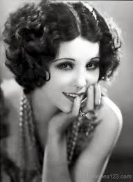 hairstyles 1920 s era mid length stylish curly bob cut hairstyles