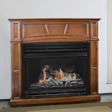 pleasant hearth vff ph32dr h 45 in dual fuel fireplace heater