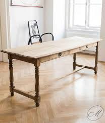 antique country house dining table