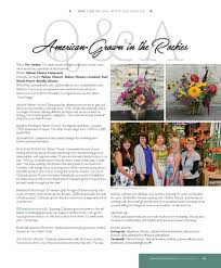 october 2017 issue slow flowers journal in florists u0027 review