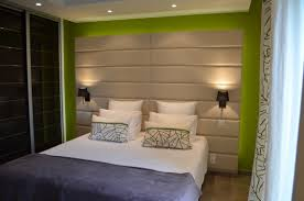 Floor To Ceiling Headboard Bedroom Beautiful White Bedroom Design With High Headboard And