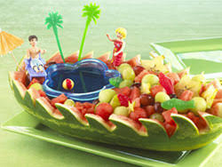 how to make a fruit basket watermelon centerpieces that wow how to make a watermelon basket