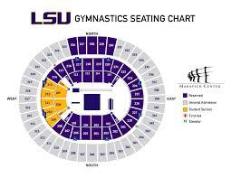 lsu gymnastics seating chart maravich center lsusports net