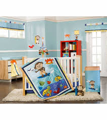 Crib Bedding Monkey S Laguna Monkey 4 Crib Bedding Set