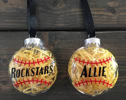 softball bow decal etsy