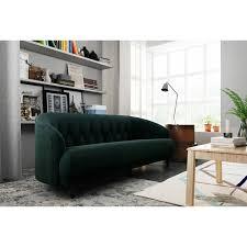 tufted memory foam sofa multiple colors walmart com