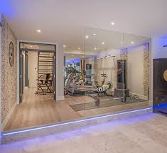 home gym this family dont have to go far to keep fit with this