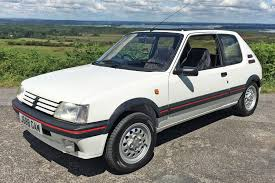 peugeot turbo 2016 peugeot 205 gti 1 6 vs peugeot 205 gti mi16 retro road test