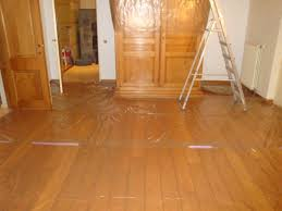 How To Clean Oak Wood by How To Sand And Clean In The Chamfered Beveled V Joint On Top Of