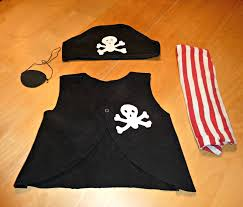 how to make a pirate costume for kids last minute diy toddler