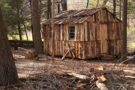 slab wood free cabin 4 building