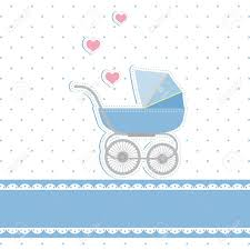 new baby shower new baby boy shower invitation card royalty free cliparts vectors