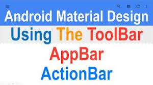 android toolbar tutorial make a toolbarlication tutorial a custom actionbar style add a