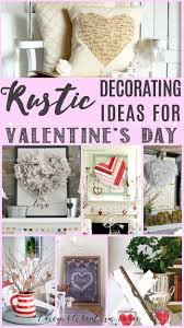 rustic decorating ideas for valentine u0027s day rustic decorating