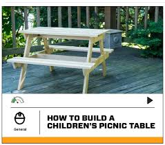 Building A Picnic Table Without Benches by How I Built A Children U0027s Picnic Table With Diyz U2013 Birthed Into