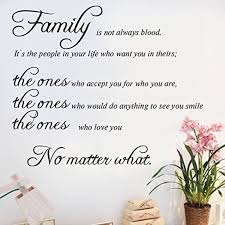 family wall decals family wall quotes family isn u0027t always blood
