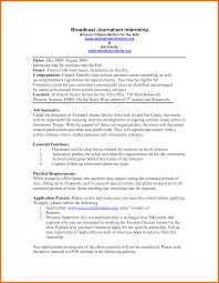 Reporter Cover Letter Tv Reporter Cover Letter Sample Cover Letters