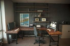 Industrial Office Desks by 5 Places To Add Industrial Pipe For A Rustic Look Modernize