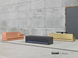 Concrete Reception Desk by Isomi Furniture Home