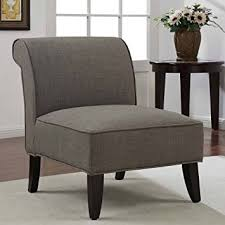 Brown Accent Chair Accent Chair Slipper Brown Derby Armless