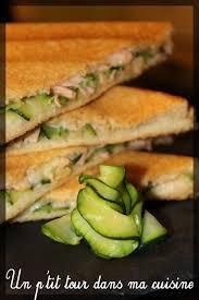 courgette boursin cuisine p croque monsieurs saumon courgette et sauce au boursin un p